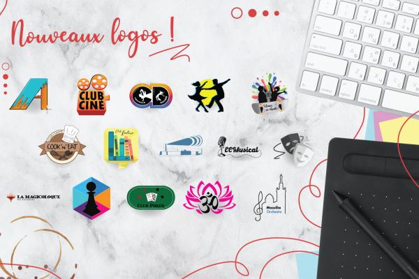 Logos des clubs